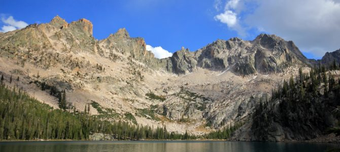 Idaho's Sawtooth Wilderness Backpack Day 3: Alpine Lake to Crammer Lakes