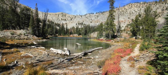 Idaho's Sawtooth Wilderness: Cabin Creek Lakes