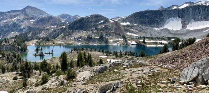 Adventure Log: Lakes Basin Backpack, Birthdays, & Trip Preparations